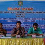 Sosialisasi Peraturan Perundang-Undangan Kabupaten Asahan Tahun 2018